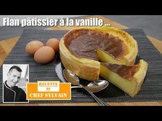Vanilla flan - Recipe by Chef Sylvain! Panna Cotta, Caramel, Pudding, Cheese, Mousse, Desserts, Food, Recipes, Vanilla