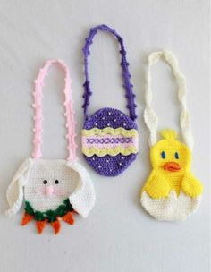 Picture of Easter Purse Set Crochet Pattern