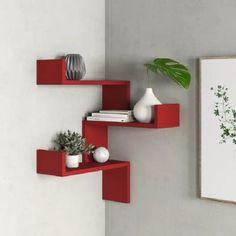 Hashtag Home Wandregal Home Decor Shelves, Home Decor Furniture, Furniture Projects, Diy Home Decor, Room Decor, Luxury Furniture, Furniture Design, Corner Shelf Design, Bookshelf Design