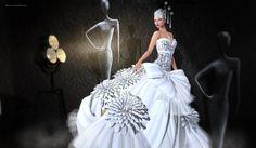Fellini Couture- Empire Gown