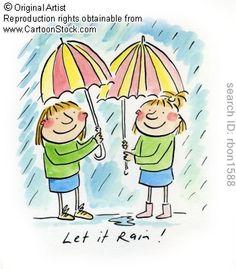 Let it Rain! by Brooks, Rosie