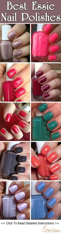Essie Nail Polishes I want all of these polishes!!