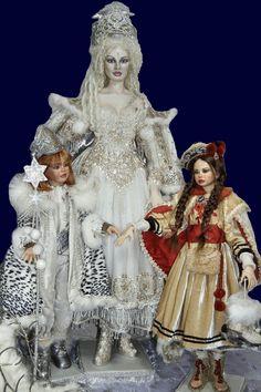 Snow Queen w/Kai & Gerda (Fairy Tale of Hans Christian Andersen) by Sylvia Weser