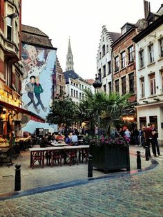 Destination: Brussels, Belgiam