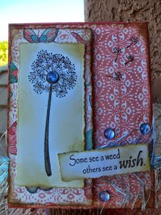 So Suzy Stamps: January Blog Challenge Winner - Some See a Weed
