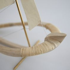 beautiful details from a small wooden boat, created by sculptor Elise Cameron Smith.