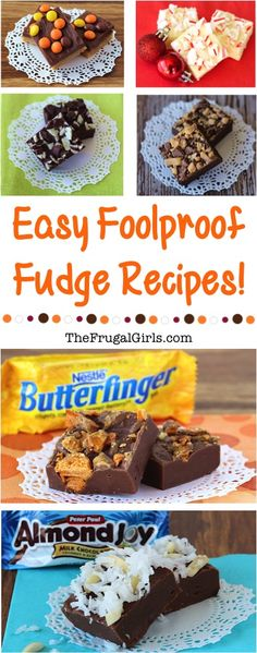 When I think of Christmas, my mind drifts lovingly to Fudge… that holiday decadent delight! Make your Christmas extra amazing when you make one of these Easy Fudge Recipes! See Also: The post Easy