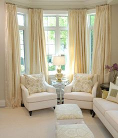 Curtains with boarders Window furnishings Pinterest