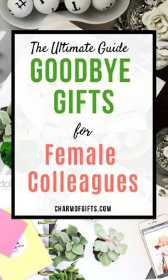 Farewell Gift Ideas That Will Win Your Colleague's Heart - - Buying a gift for coworker can seem tricky, even more so if it is the farewell gift for a female colleague. Here is a failproof list of gifts guaranteed to. Gifts For Female Coworkers, Goodbye Gifts For Coworkers, Gifts For Colleagues, Christmas Gifts For Coworkers, Gifts For Boss, Gift Ideas For Boss, Retirement Gifts For Women, Coworker Thank You Gift, Goodbye Coworker