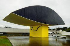 https://flic.kr/p/FST5Kv | Museu Oscar Niemeyer | Localiza-se na cidade de Curitiba, capital do estado do Paraná, Brasil. O complexo de dois prédios, instalado em uma área de trinta e cinco mil metros quadrados, é um verdadeiro exemplo da Arquitetura aliada à Arte.