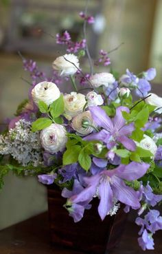 Wedding Flower Inspiration Clematis 3