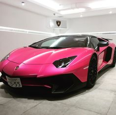 Lamborghini Aventador Super Veloce Roadster painted in Ad Personam Rosa Acantis   Photo taken by: @gotomanabu on Instagram   Owned by: @gotomanabu on Instagram