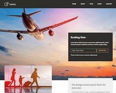 Travel - Unbounce Landing Page Template | TemplateSparkle
