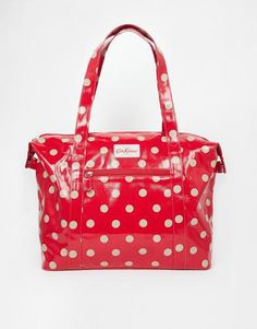 Cath Kidston Large Zipped Shoulder Bag - Red #accessories #women #covetme #cathkidston