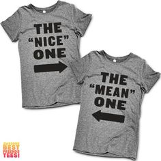 """The """"Nice"""" One, The """"Mean"""" One 
