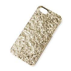 Metallic Gold Foil Cover for iPhone 5 and 5s