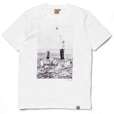 Carhartt WIP X Polar Skate Co. Titan T-Shirt - White/Multicolor