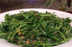 Stir Fried Purslane, Chinese Style