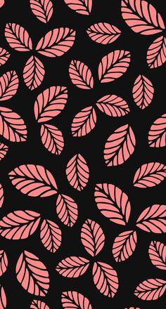 Leaves Wallpaper Iphone, Framed Wallpaper, Pastel Wallpaper, Cute Wallpaper Backgrounds, Wallpaper Iphone Cute, Screen Wallpaper, Mobile Wallpaper, Cute Wallpapers, Pattern Art