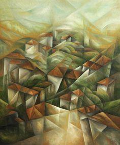 Картинки по запросу cubism  landscape