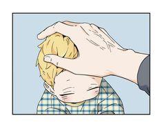 It's getting more beautiful 😊😁😍😉 Manhwa Manga, Anime Manga, Anime Bebe, Anime Child, Fujoshi, Webtoon, Anime Couples, My Hero, Chibi