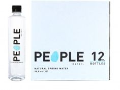People Water: A Social Enterprise Sells Water to Fund Water Sustainable Companies, Mish Mash, Social Enterprise, Giving Back, Bottle, Water, People, Fair Trade, Charity