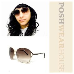JESSICA SIMPSON Brown & Gold Aviator Sunglasses HHJSOP0319-R J5255 GLDBR • Adjustable bridge pads • Only ever used for modeling.  Like what you see? Follow me! On PM @PoshWearHouse On IG www.instagram.com/PoshWearHouse On FB www.facebook.com/PoshWearhouse Jessica Simpson Accessories Sunglasses