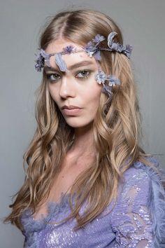 Metallic eyes | Atelier Versace Fall 2015 #makeup