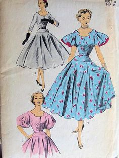 Hey, I found this really awesome Etsy listing at https://www.etsy.com/listing/164789749/advance-6051-vintage-sewing-pattern