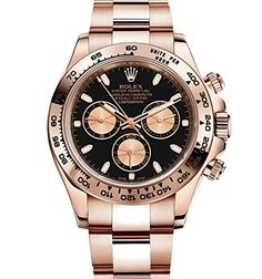 Rolex Daytona Everose Gold Watch With Black Dial 116505 Unworn 2016 * Click on the image for additional details.