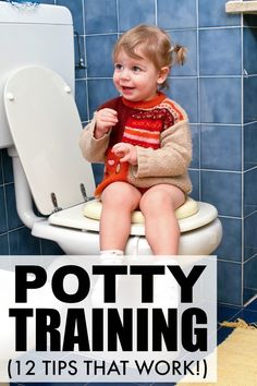 If your little one is ready to start potty training, and you have no idea where to start or what to do, this collection of 12 helpful potty training tips are for you. From effective motivators to dealing with automatic flush toilets to travel toilets for long road trips, these potty training tips are all you need to ensure potty training success!