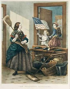 Domestic Blockade, Currier & Ives/Thomas Nast