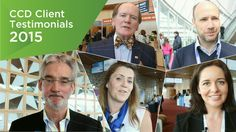 We were delighted to welcome some amazing clients to The Convention Centre Dublin in 2015. Hear what they had to say about their experiences with us!