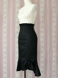 Mermaid skirt from Victorian Maiden - front