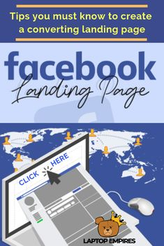 There's a lot to cover here folks, and instead of trying to cover it all, we're going to focus on five things you just have to know about how to create a landing page on Facebook for Facebook ads.   In this article, you'll learn:  What a Facebook landing page is Why we care about landing pages Types of landing pages and alternatives What all of your landing pages should include What every landing page should avoid #fblandingpage #facebooklandingpage #fbad #laptopempires Make Money Blogging, Way To Make Money, Make Money Online, Best Blogs, Starting Your Own Business, Design Layouts, Design Web, Flat Design, For Facebook