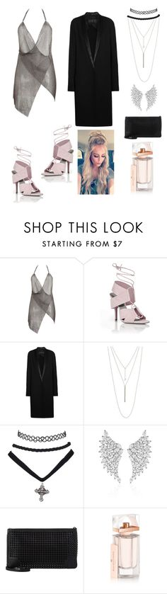 """Untitled #218"" by miiirrra ❤ liked on Polyvore featuring Fannie Schiavoni, Alexander Wang, Haider Ackermann, ALDO, Messika, Christian Louboutin and Balenciaga"