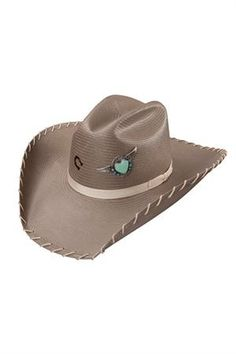 Charlie 1 Horse Never Give Up Cowgirl Hat