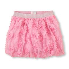 Pair this pretty skirt with one of our dressy graphic tops, or a shine cami and cardigan for great fancy looks!