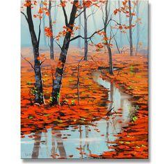 Red Autumn by Graham Gercken