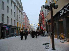 Oulu, Finland. Finland Travel, Eurotrip, Study Abroad, Bridges, Iceland, The Neighbourhood, Around The Worlds, Street View, Holidays