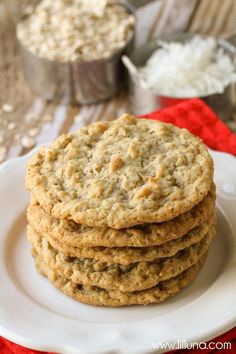 DELICIOUS Oatmeal Cookie recipe
