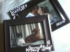 Customized - hand painted - picture frames $10 each Great gifts for any holiday or special occasion!