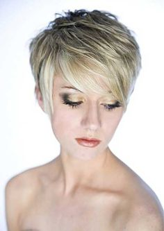 Cute short layered haircut!! I have short hair already but looking for a little different:)!!