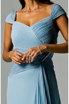 mother of the bride dresses-- If I go for this style-ish bodice for myself/bridesmaids.