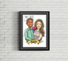 Ilustração para eternizar - Querido Pix Ilustrações Personalizadas