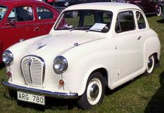 Austin A35, my first car! 1958 Spruce Green. Bought in 1983 for £325.