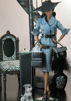 Chanel doll luxe