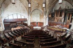 Woodward Avenue Church, Detroit, Michigan.