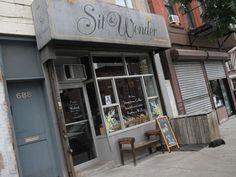 Sit & Wonder. 688 Washington Avenue. Best coffee east of Flatbush. Try the Quad Americano.