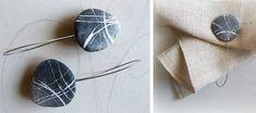 Complementi d'arredo con carta riciclata, le creazioni di Marzia Filippi di Sognoametista - BCasa Beach Stones